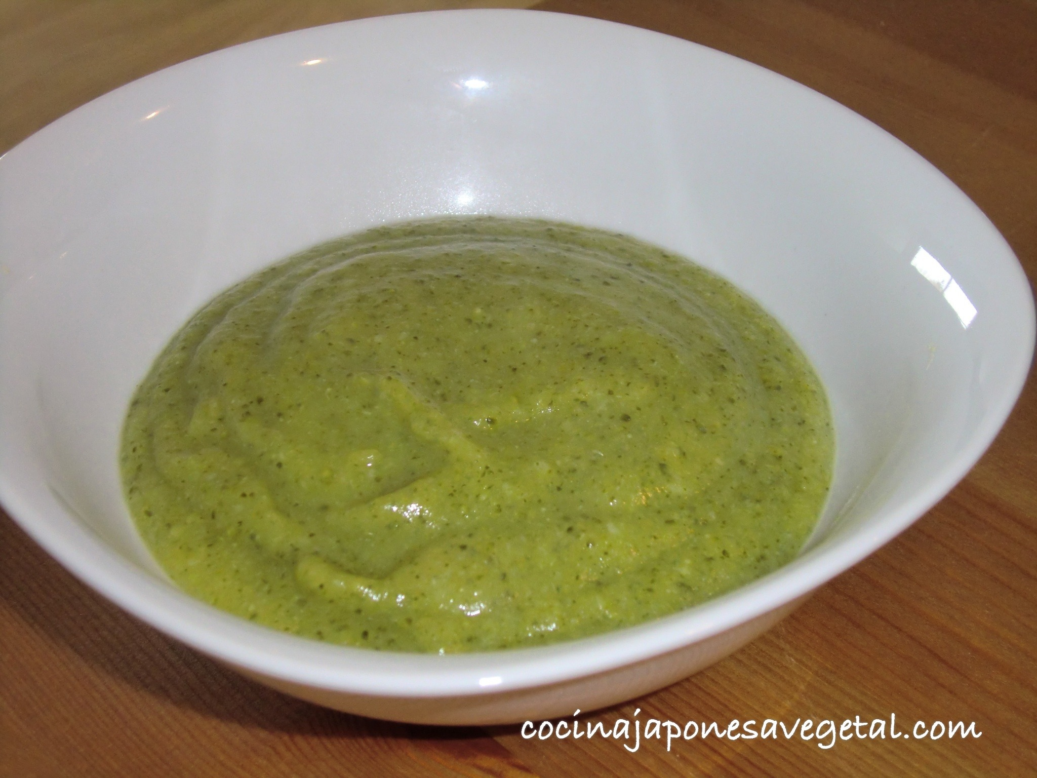 Pur de br coli con patatas comer verduras - Pure de patatas y calabaza ...