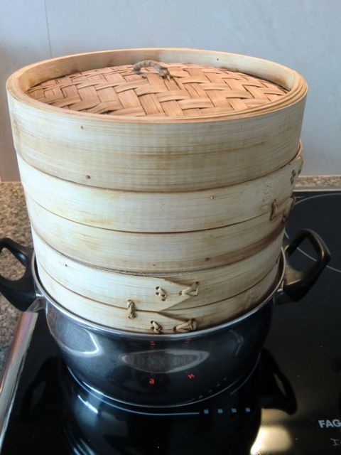 C mo utilizar una vaporera de bamb comer verduras - Como se planta el bambu ...