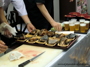 Osaka atún platos