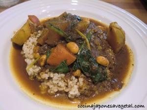 Curry del restaurante Atl