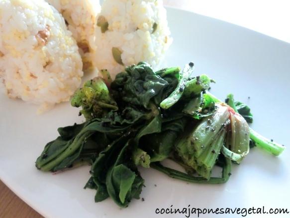 Goma ae de espinacas comer verduras for Espinacas como cocinarlas