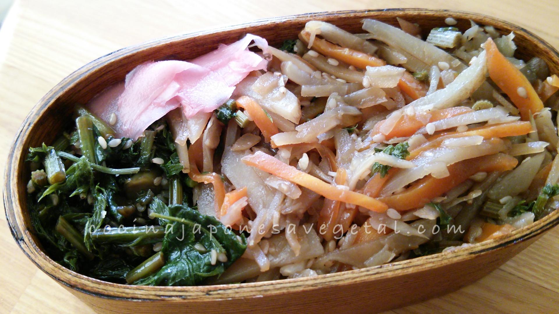 Comer verduras cocina japonesa a la vegetariana for Utensilios cocina japonesa